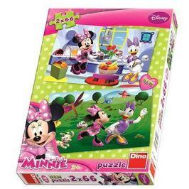 Disney Kamarádka Minnie 2x66 dílků