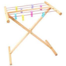Dřevěný sušák na prádlo
