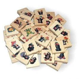 Dřevěné puzzle - Krtek