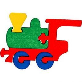 Dřevěné vkládací puzzle - Malá mašinka