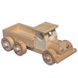 Dřevěné nákladní auto s korbou