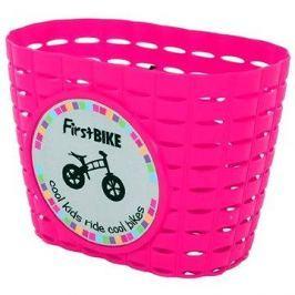 FirstBike košík růžový