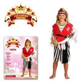 Šaty na karneval - Pirátka vel. S
