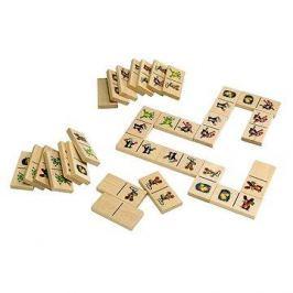 Krteček - Dřevěné domino