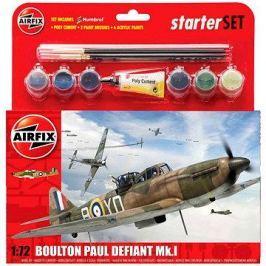 AirFix Starter set A55213 letadlo – Boulton Paul Defiant Mk.I