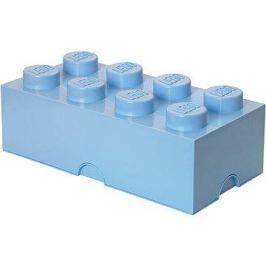 LEGO Úložný box 8 250 x 500 x 180 mm - světle modré