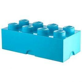 LEGO Úložný box 8 250 x 500 x 180 mm - azurová
