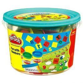 Play-Doh - Mini kyblík s čísly s kelímky a formičkami