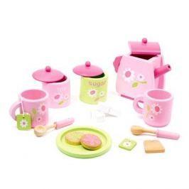 Dřevěný čajový set - Rose