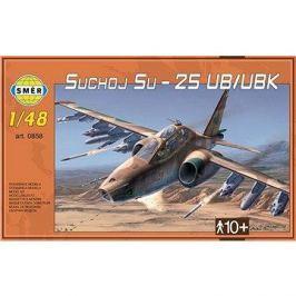 Směr Model Kit 0858 letadlo – Suchoj Su-25 UB/UBK