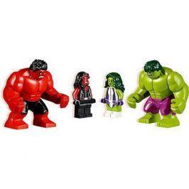 LEGO Super Heroes 76078 Hulk vs. Červený Hulk