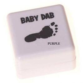 Baby Dab na dětské otisky - fialová