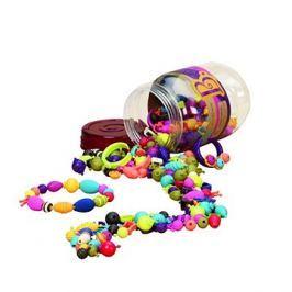 B-Toys Spojovací korále a tvary Pop Arty 275 ks