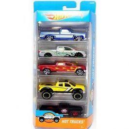 Hot Wheels Angličáky 5 ks – Hot Trucks