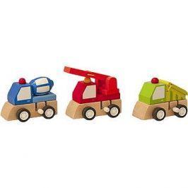 Woody Natahovací autíčko - stavební stroje