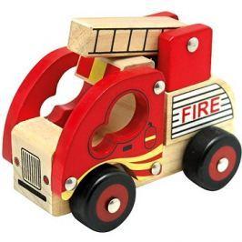 Bino Dřevěné auto hasiči
