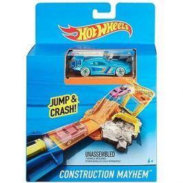 Hot Wheels Dráha do kapsy Construction Mayhem