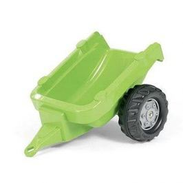 Vlečka za traktor 1osá - světlezelená