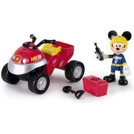Mikro Trading Mickey Mouse záchranářská čtyřkolka s doplňky