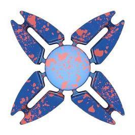 Fidget Spinner hliníkový modrý