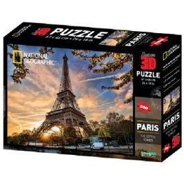 National Geographic 3D Puzzle Paříž 500 dílků