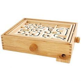 Hamleys Dřevěný labyrint s kuličkou