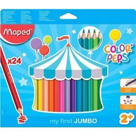Maped Color Peps Jumbo, 24 barev