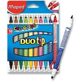 Maped Color Peps Duo Tips, 10 barev