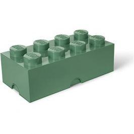 LEGO Úložný box 250 x 500 x 180 mm - army zelená