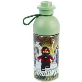 LEGO Ninjago láhev transparentní 0,5L - army zelená