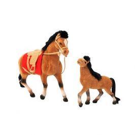 Kůň 19 cm a 13 cm s příslušenstvím
