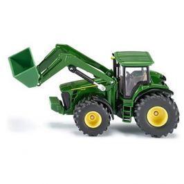Siku Farmer - traktor John Deere s předním nakladačem