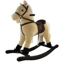 Kůň houpací béžový