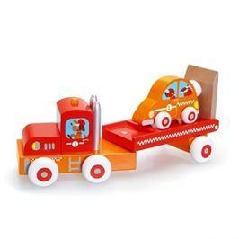 Scratch Náklaďák se závodním autem