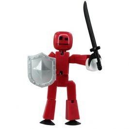 StikBot Figurka s doplňky -  zbraně - šedý štít