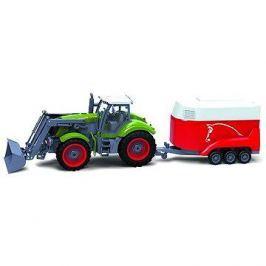 BRC 28611 Farm Traktor se přívěsem na koně