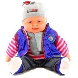 Miminko kluk - fialová vesta