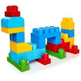 Mega Bloks Pytel kostek (80) modrý