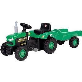 DOLU Traktor šlapací s vlečkou, zelený