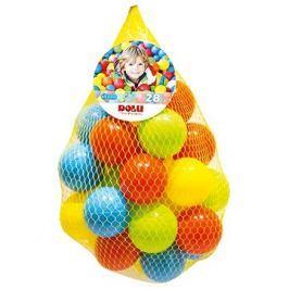 Dolu Barevné plastové míčky - 28 ks