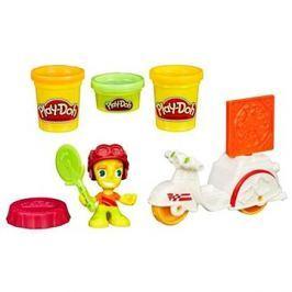 Play-Doh Town - Skútr s pizzařem