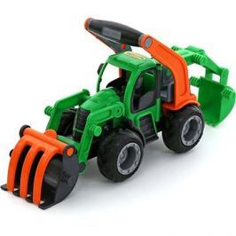 Polesie Traktor GripTruck nakladač s rypadlem