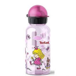 TEFAL KIDS láhev tritan 0.4 l růžová-princezna