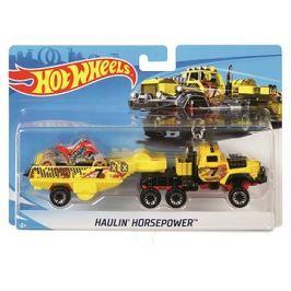 Hot Wheels Náklaďák Haulin Horsepower