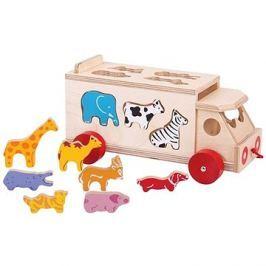 Bigjigs Toys Auto se zvířátky