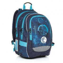 Školní batoh Topgal CHI 799 D - Blue Školní batohy do 4. a 5. třídy