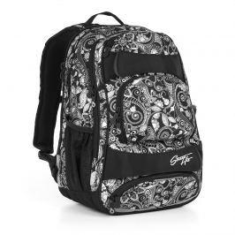 Studentský batoh Topgal HIT 894 A - Black Studentské batohy