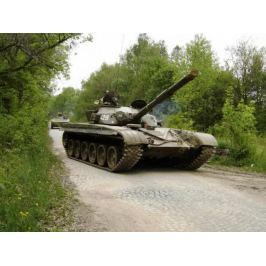 Zážitek - Bojový tank T-55 nebo T-72 - Středočeský kraj