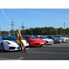 Zážitek - Závodní den se supersporty - Středočeský kraj
