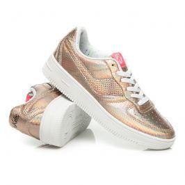 SPORTOVNÍ BOTY S LESKEM Dámská obuv